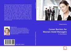 Career Barriers for Women Hotel Managers kitap kapağı