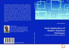 Обложка Some Applications of Modern Statistical Techniques