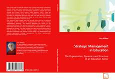 Bookcover of Strategic Management in Education