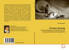 Copertina di Primary Nursing