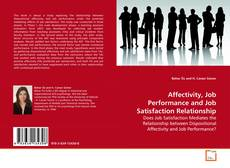 Buchcover von Affectivity, Job Performance and Job Satisfaction Relationship