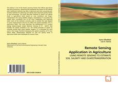 Buchcover von Remote Sensing Application in Agriculture