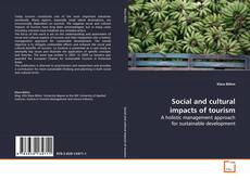 Bookcover of Social and cultural impacts of tourism