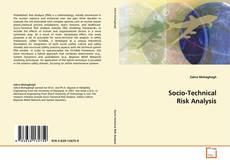 Bookcover of Socio-Technical Risk Analysis