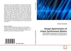 Capa do livro de Design Optimization of Linear Synchronous Motors
