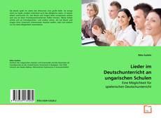Обложка Lieder im Deutschunterricht an ungarischen Schulen