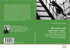 """Buchcover von """"Bis hierhin und nicht mehr weiter"""""""