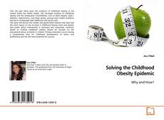 Buchcover von Solving the Childhood Obesity Epidemic