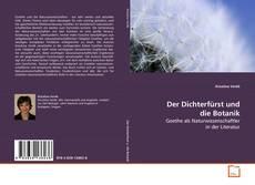 Copertina di Der Dichterfürst und die Botanik