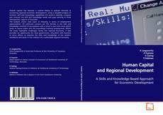 Capa do livro de Human Capital and Regional Development