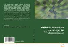 Copertina di Interactive thinking and teacher expertise