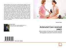 Bookcover of Antenatal Care received (ANC)