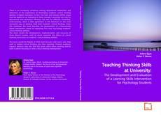 Teaching Thinking Skills at University: kitap kapağı