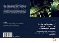 Portada del libro de On the Performance of Military Distributed Information Systems