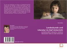 Landeskunde und Literatur im DaF-Unterricht kitap kapağı