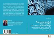 Buchcover von Neuropsychological Recovery after Subarachnoid Hemorrhage
