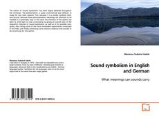 Bookcover of Sound symbolism in English and German