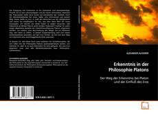 Couverture de Erkenntnis in der Philosophie Platons