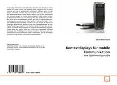 Buchcover von Kontextdisplays für mobile Kommunikation