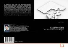 Bookcover of Acculturation