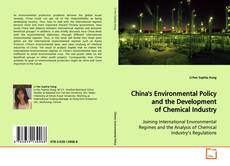 Buchcover von China's Environmental Policy and the Development of Chemical Industry