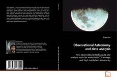 Couverture de Observational Astronomy and data analysis