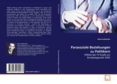 Bookcover of Parasoziale Beziehungen zu Politikern