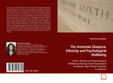 Buchcover von The Armenian Diaspora: Ethnicity and Psychological Wellbeing