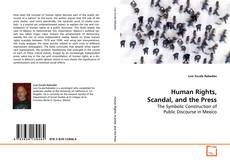 Buchcover von Human Rights, Scandal, and the Press