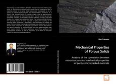 Bookcover of Mechanical Properties of Porous Solids