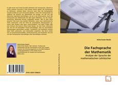Die Fachsprache der Mathematik kitap kapağı