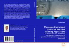 Managing Operational Enterprise Resource Planning Applications的封面