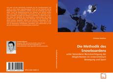 Bookcover of Die Methodik des Snowboardens