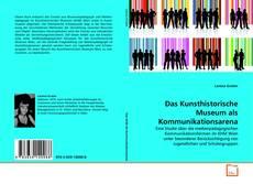 Capa do livro de Das Kunsthistorische Museum als Kommunikationsarena