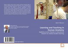 Couverture de Learning and Teaching in Human Anatomy