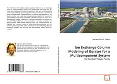 Copertina di Ion Exchange Column Modeling of Borates for a Multicomponent System