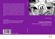 Buchcover von Cultural Technics