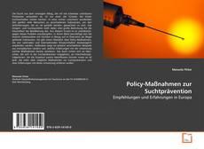 Bookcover of Policy-Maßnahmen zur Suchtprävention