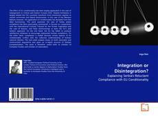 Copertina di Integration or Disintegration?
