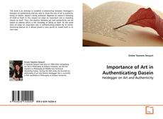 Couverture de Importance of Art in Authenticating Dasein