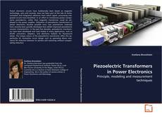 Bookcover of Piezoelectric Transformers in Power Electronics