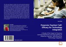 Capa do livro de Preservice Teachers' Self-Efficacy for Technology Integration