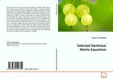Buchcover von Selected Nonlinear Matrix Equations
