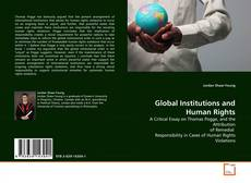 Bookcover of Global Institutions and Human Rights