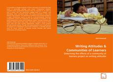 Bookcover of Writing Attitudes
