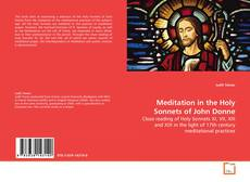 Meditation in the Holy Sonnets of John Donne kitap kapağı