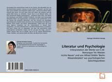 Buchcover von Literatur und Psychologie