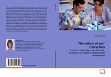 Bookcover of The nature of pair interaction