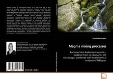 Couverture de Magma mixing processes