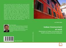 Bookcover of Indoor Environment at work